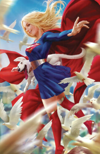NYCC 2019 SUPERGIRL 34 DERRICK CHEW SILVER FOIL VARIANT NM