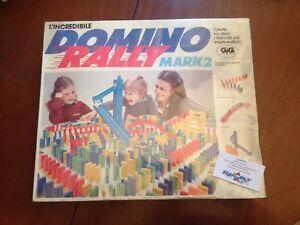 Domino rally gig vintage anni 80 - Italia - Domino rally gig vintage anni 80 - Italia
