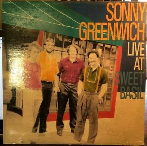 SEALED-Sonny-Greenwich-LP-Live-At-Sweet-Basil-Justin-Time-26-1988