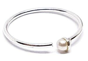 Nose-Ring-Cultured-Real-Pearl-Split-Ring-8mm-22g-0-6mm-Silver-Body-Piercing