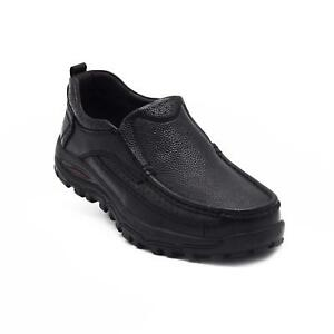 New-Men-039-s-Casual-Leather-Slip-On-casual-non-slip-Work-driving-Shoes-plus-size