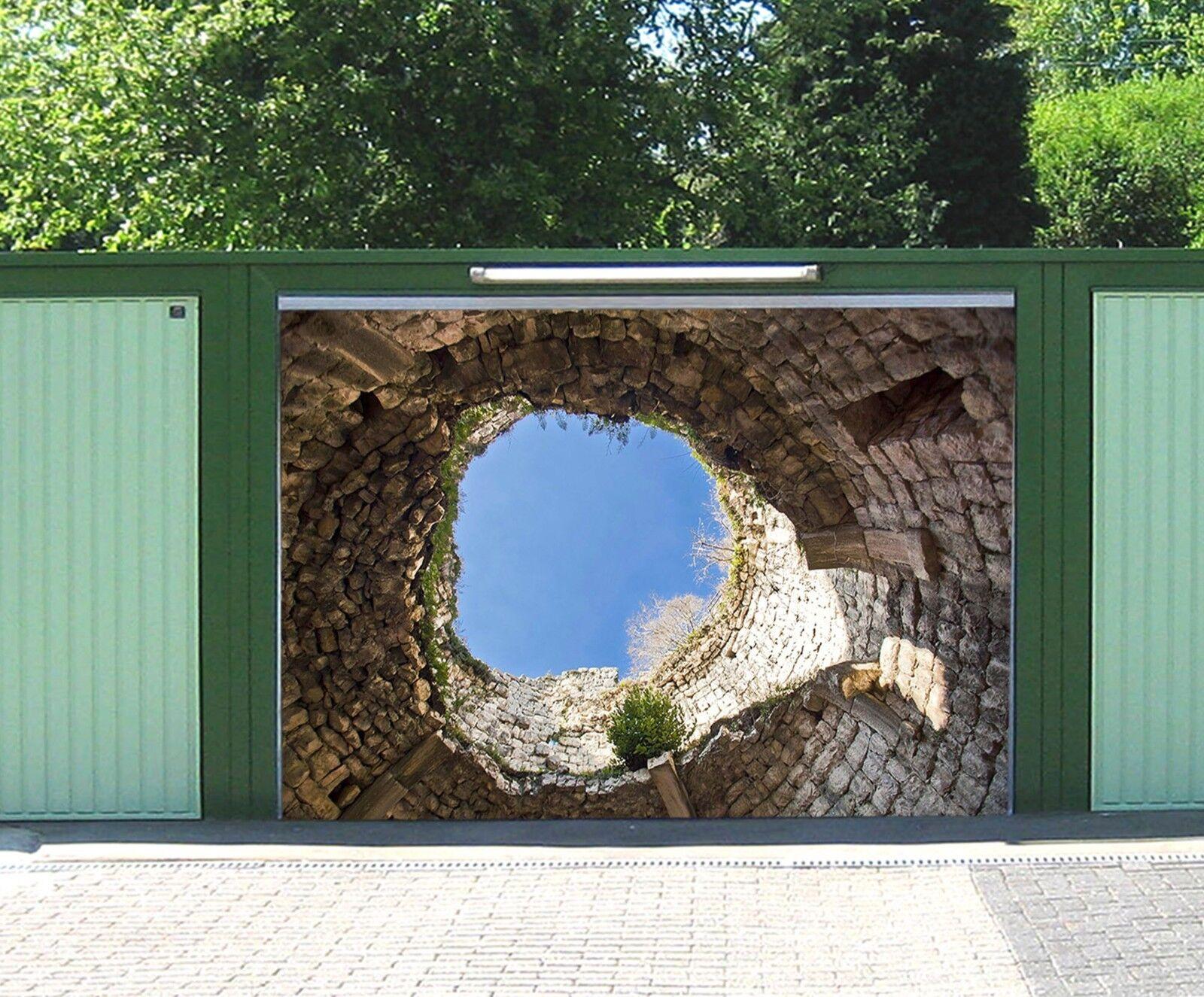 3D Stone Cave 783 Garage Door Murals Wall Print Decal Wall AJ WALLPAPER UK Carly