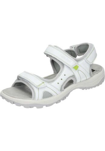 Manitu Sandales Chaussures Femmes Sandales En Cuir Blanc 36-42 910661-3 neu6