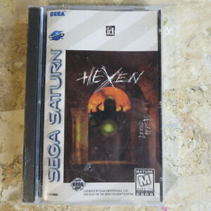 HEXEN-Sega-Saturn-USA-NEW-Factory-Sealed-Complete-DOOM-Engine-FPS-by-id