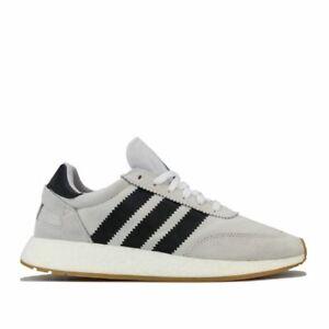 Homme-Adidas-Originals-I-5923-Lacets-Matelasse-Baskets-en-Gris