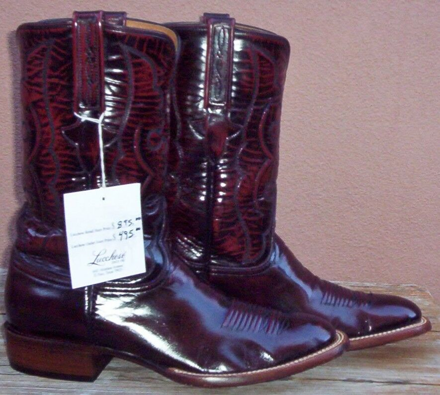 Lucchese Classics Handmade, Full Skin, Smooth Goat Skin, Style  L1518, (10 D)