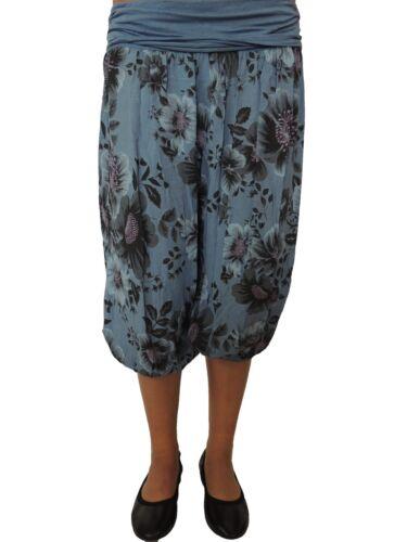 Breve PUMP dimensioni pantaloni 42 44 46 48 50 52 54 Harem Pantaloni misure grandi pantaloni estate