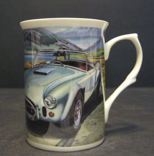 AC Cobra Car Full Wrap Print Fine Bone China Mug Beaker