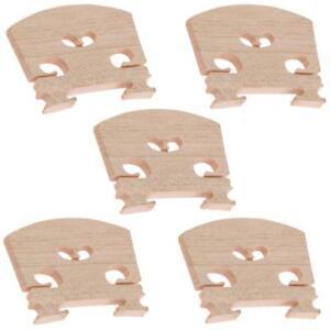 4/4 Puente de violín de tamaño para accesorios de violín acústico Madera