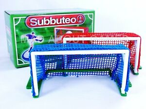 Image is loading Subbuteo-GOALS-New-Table-Football-Soccer-Set-Game-  sc 1 st  eBay & Subbuteo GOALS New Table Football Soccer Set Game Toy Miniature Paul ...