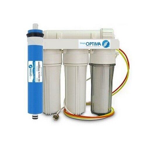 Osmoseur aquarium 75 GPD 4 étapes de filtration