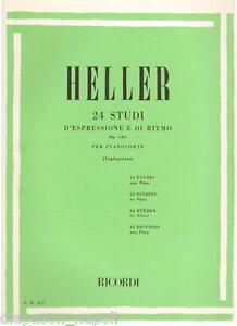 Heller: 24 Studien D'Kreation Mit E Von Rhythm Für Klavier (T) Erinnerungen