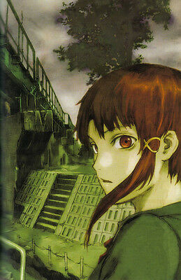 0537 Serial Experiments Lain   JAPANESE ANIME A3 A4 POSTER ART PRINT