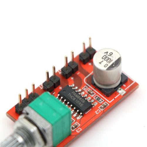 PAM8406 5Wx2Digitals Speaker Amplifier Board with Volume Potentiometer DC 3~5.5V
