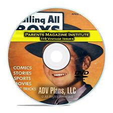 Parents Magazine Institute, Calling All Kids, True, Golden Age Comics DVD D26