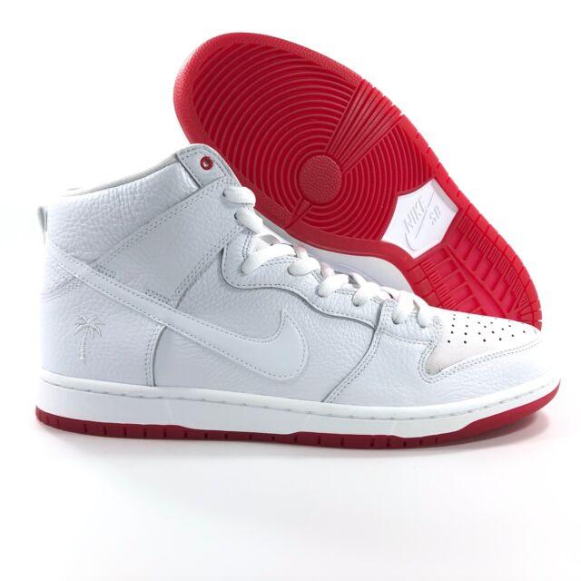 newest eb29f 430ec Nike SB Zoom Dunk High Pro QS White