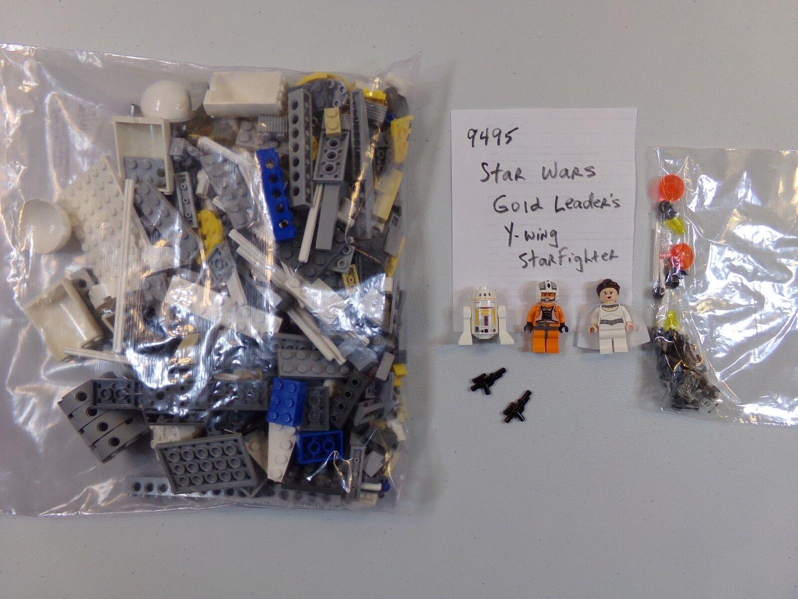 tutto in alta qualità e prezzo basso Lego 9495 Estrella Guerras oro oro oro Leader's Y-Wing Estrellacombatiente - 100% completare  consegna lampo