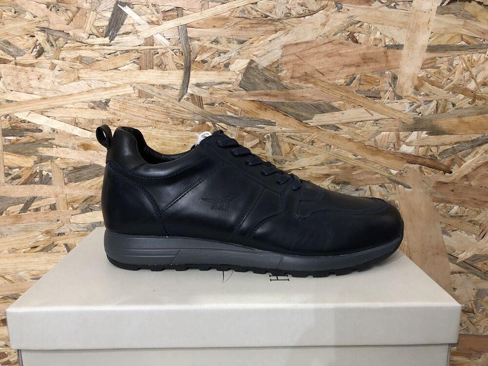 Henry Cottons Chaussures Beylor 182.m.540 Original Hiver -bleu/noir