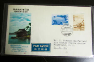 Japan-5x-Early-First-Day-Cover-Lot-Scarce