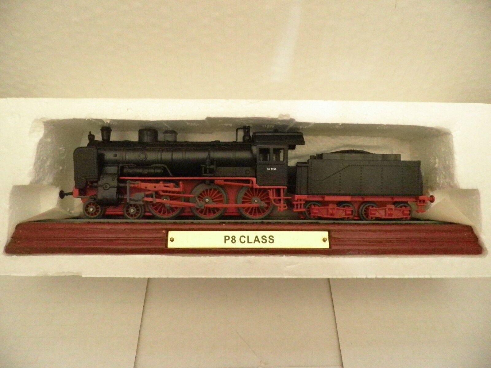 ATLAS Locomotive Model P8 CLASS No.3 904 006. Plastic model model model on plinth.  Ahorre 35% - 70% de descuento