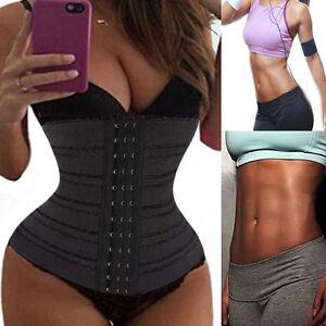 83e705058e0e6 Image is loading Slimming-Body-Shaper-Women-Waist-Trainer-Underbust-Sport-