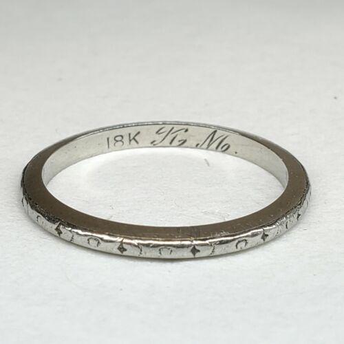 Size 7 Sterling Silver Simple Thin CZ Diamond Band Ring Vintage Bohemian Everyday Minimalist Statement Stylish Elegant Cute Cool