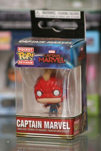 Captain Marvel mask Pocket PoP Captain Marvel Keychain Funko