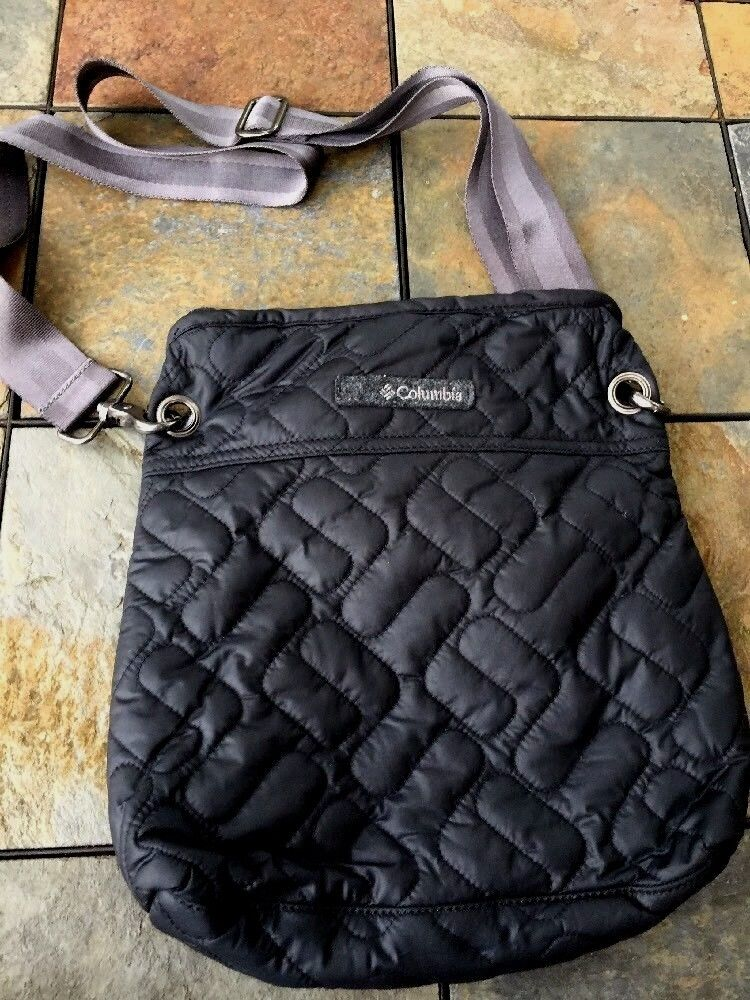 COLUMBIA Sportswear CROSSBODY Purse Satchel Hiking Travel Everyday Bag 11 11  ️
