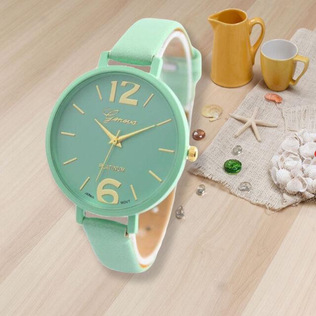 Fashion Lady Women's Watches Leather Analog Quartz Wrist Watch Nice Gift