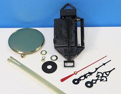 """Quartz Battery Clock Movement Pendulum NEW Long Quartex For Dials up to 13//16/"""""""