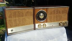 A-Working-1963-Zenith-Model-MJ1035W-AM-FM-Stereo-Radio-See-The-Video