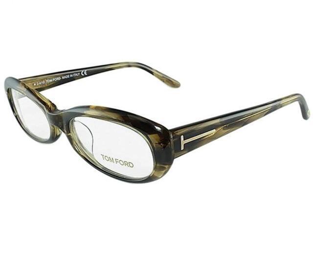7ce0f37116978 Authentic Tom Ford FT5180 - U45 Eyeglasses Green Havana  NEW  53mm