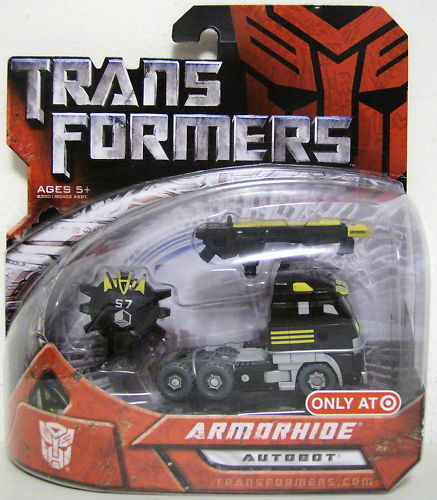 "ARMORHIDE Transformers 1 Movie 4/"" inch Scout Class Autobot Figure Target 2007"