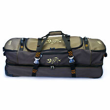 G Loomis Cargo Roller Bag Rolling 2-Way Fly Fishing Gear Duffel Case - Moss