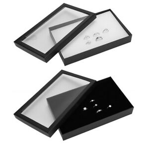 Details About Portable Jewelry Organizer Box Holder Display Case Ring Earring Storage Tray New
