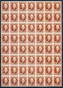 Stamps Us 1847 Benjamin Franklin 5c Mint Reproduction,Copy 56pcs