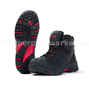 Titan-Non-Metallic-Waterproof-Leather-Work-Safety-Boots-Composite-Toe-Cap-Sole