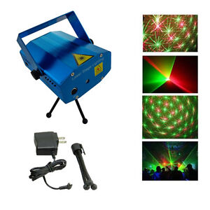LED-Stage-Lighting-Mini-R-amp-G-Laser-Projector-Disco-Party-Club-DJ-Light-UK-Stock