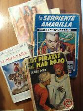 Lote 5 ejemplares de Novelas y libros muy antiguos años 30