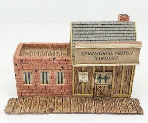 Castagna-0271-Marshalls-Office-amp-Prison-Albatre-Resine-Neuf-Emballage-D-039-Origine