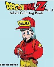 DragonBall Z : Adult Coloring Book Series (Vol. 3) : Coloring Book by Yoshida...