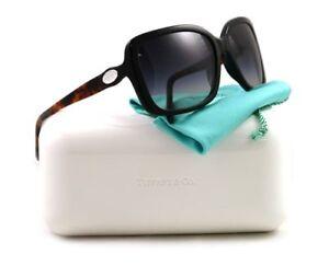 b21a2f607141 Brand New Tiffany   Co. Sunglasses 4026G 80503C Black and Tortoise ...