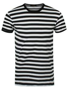 Black-and-White-Striped-T-Shirt