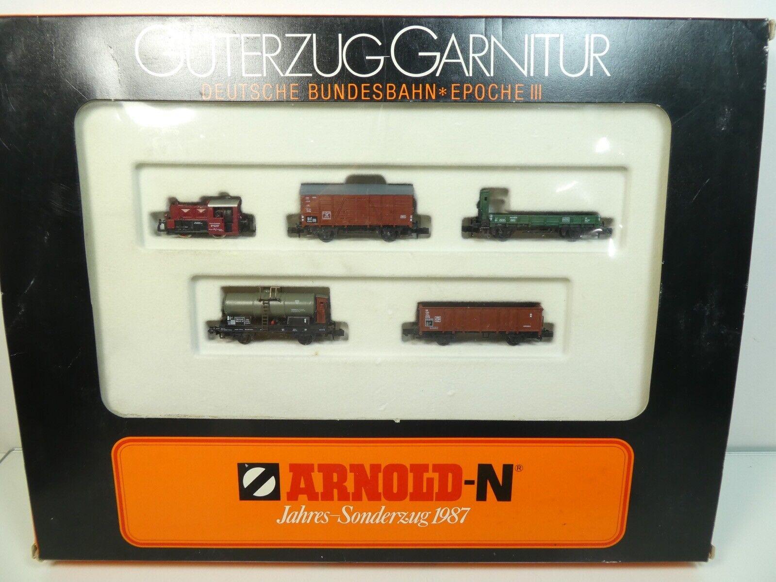 Arnold 0157 - Spur N - DB - Güterzug-Garnitur Köf - TOP in OVP -  1932