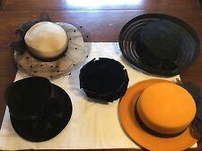 Vintage Antique Hat Lot