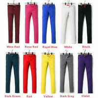 NEW Sexy Women's jeans colored skinny jeans stretch pants low rise trend colors