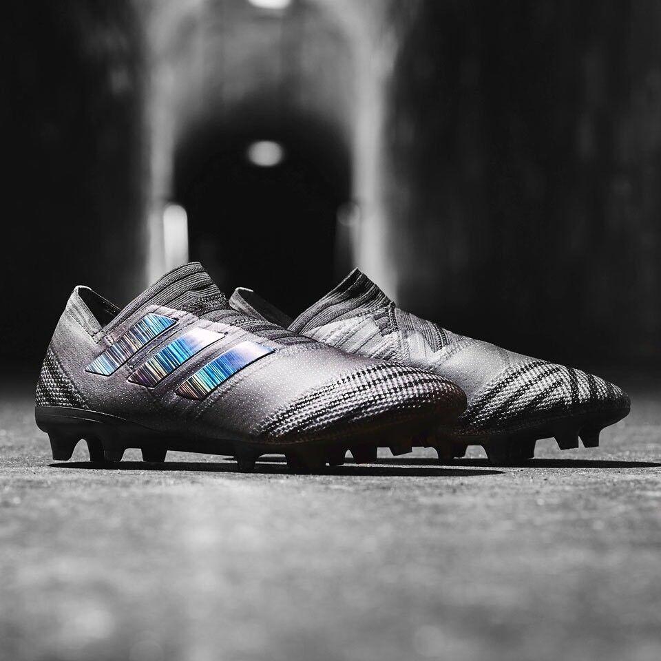 Adidas Nemeziz 17+360agility Fg da Calcio Calcio Calcio Galloccia Nero Nero Nero Misura 9 63177a