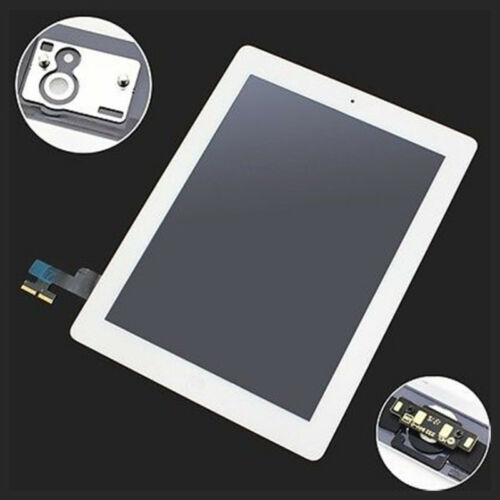 New Touch Screen-Digitizer Assembly Home Button Adhesive for Pad 3/4 Black