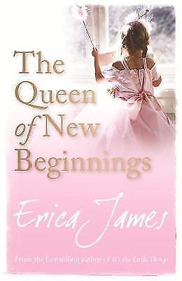 The Queen of New Beginnings, James, Erica   Paperback Book   Good   978140910255