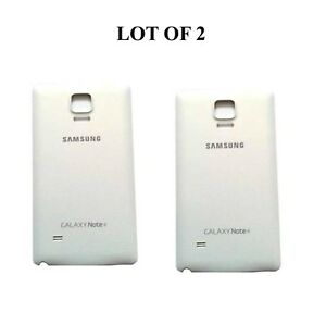 Original-Samsung-Battery-Backdoor-Cover-For-Samsung-Galaxy-Note-4-White